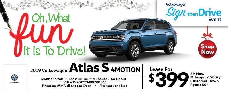 Shrewsbury Volkswagen Vw Atlas Lease Deals In Nj 2017 Passat